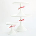 White Cake Stand 9 inch