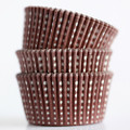 Brown Sweet Spot Cupcake Liners
