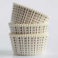 White and Brown Sweet Spot Cupcake Liners