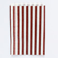Chocolate Brown Stripe Candy Bags