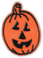 Halloween Pumpkin Face Ring Toppers