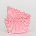 Cotton Candy Pink Cupcake Liners