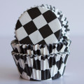 Checkered Flag Cupcake Liners