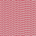 Cherry Red Chevron Paper Straws