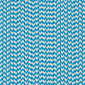 Blue Raspberry Chevron Paper Straws