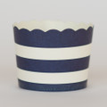 Favor Cups: Denim Blue Stripe