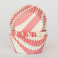 Cotton Candy Pink Zebra Cupcake Liners