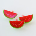 Watermelon Iridescent Cupcake Toppers