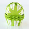 Lime Green Party Cupcake Liners