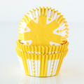 Lemon Yellow Party Cupcake Liners