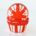 Tangerine Orange Party Cupcake Liners