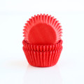 Mini Strawberry Red Cupcake Liners