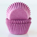 Mini Orchid Purple Cupcake Liners
