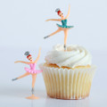 Ballerina  Cupcake Toppers