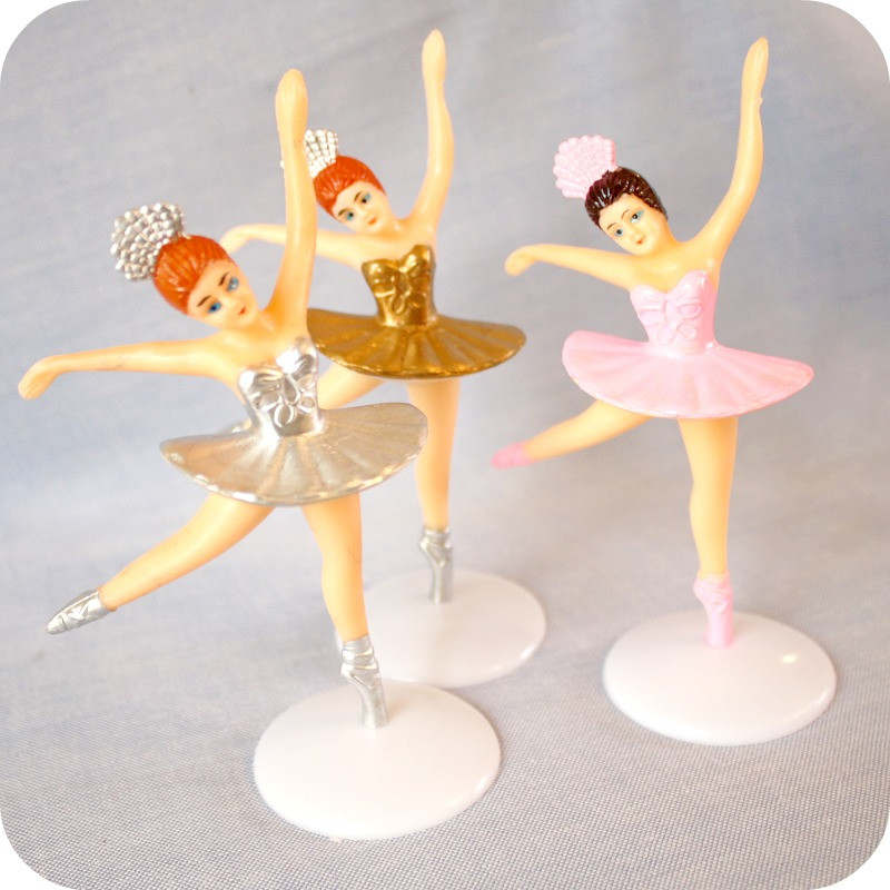 Bake it pretty ballerina cake topper for Angelina ballerina edible cake topper decoration sale