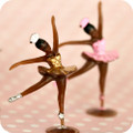 Ballerina Cupcake Toppers AA