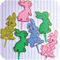 Easter Bashful Bunny Toppers