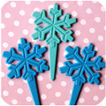 Snowflake Biodegradable Toppers