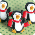 Chilly Penguin Ring Toppers