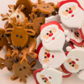 Santa and Reindeer Ring Toppers