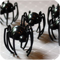 Halloween Creeping Spider Toppers