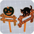 Halloween Fence Picks