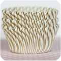 Gold Carnival Stripe Cupcake Liners