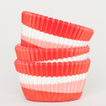 Tomato Red Tilt-a-Whirl Cupcake Liners