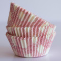 Pink Grapefruit Summer Plaid Cupcake Liners