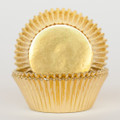 Gold Foil Cupcake Liners