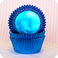 Royal Blue Foil Cupcake Liners