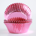 Vintage Pink Foil Cupcake Liners
