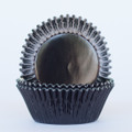 Black Licorice Foil Cupcake Liners