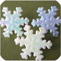 Snowflake Iridescent Toppers