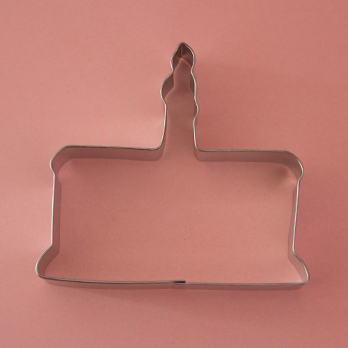 Birthday Cake Cookie Cutter Image 1