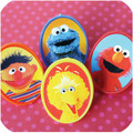 Kid's Classics: Sesame Street™ Label Ring Toppers
