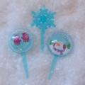 Snow Globe Cupcake Picks
