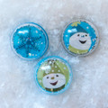 Snow Globe Snowmen Ring Toppers