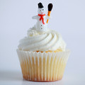 Snowman Cupcake Toppers