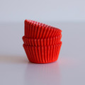 Mini Tangerine Orange Cupcake Liners