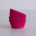 Mini Raspberry Pink Cupcake Liners