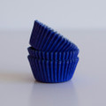 Mini Royal Blue Cupcake Liners
