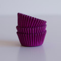 Mini Taffy Purple Cupcake Liners