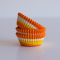 Mini Sunshine Yellow Tilt-a-Whirl Cupcake Liners