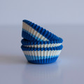 Mini Blue Raspberry Tilt-a-Whirl Cupcake Liners