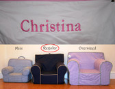 Premonogrammed Regular Size Ugly-Where Chair - Christina - B2960