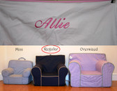 Premonogrammed Regular Size Ugly-Where Chair - Allie - B2968