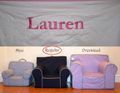 Premonogrammed Regular Size Ugly-Where Chair-  Lauren - B3024