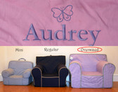 Pre-Monogrammed Large (Oversized) Ugly-Where Chair - Audrey - J297