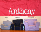 Pre-Monogrammed Large (Oversized) Ugly-Where Chair - Anthony - J303